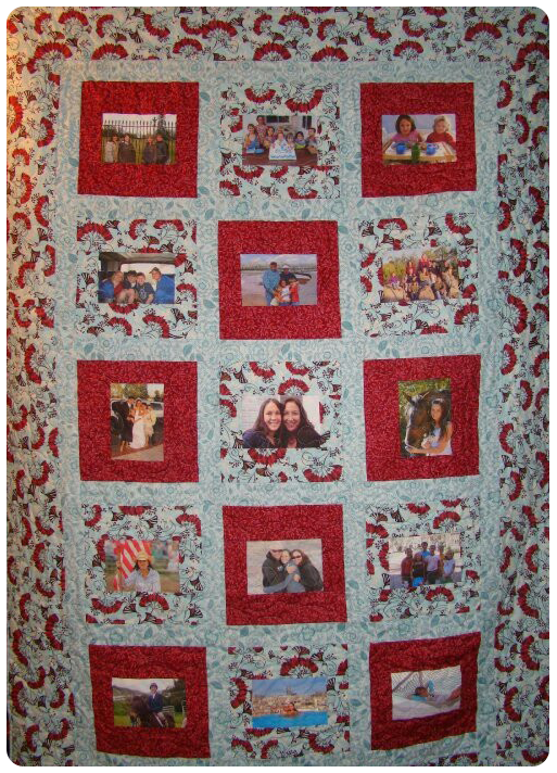 Photo Memory Quilt : quilts photos - Adamdwight.com