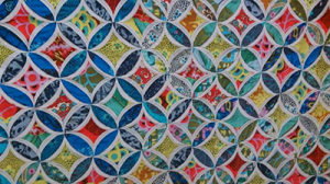Cathedral Window Quilts : stained glass window quilt pattern - Adamdwight.com
