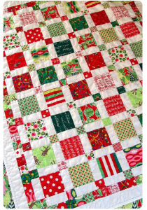 Making a Christmas quilt. eed66dea98a4850c5b122b629a573b44